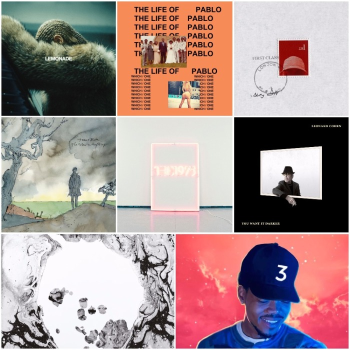 The New Music Mixtape Presents: Albums 2016